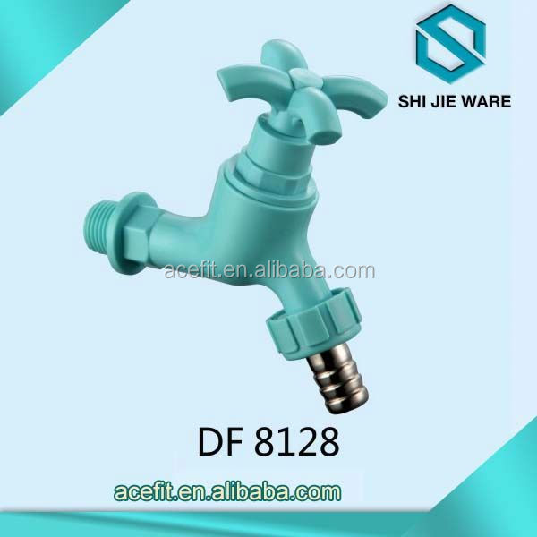 Newest Design Blue Color Water Taps Stainless Steel Hose Bib Kitchen Sink Basin Faucet