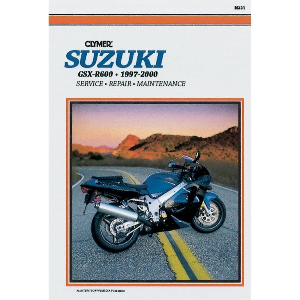 1997-2000 CLYMER SUZUKI MOTORCYCLE GSX-R600 SERVICE MANUAL NEW M331