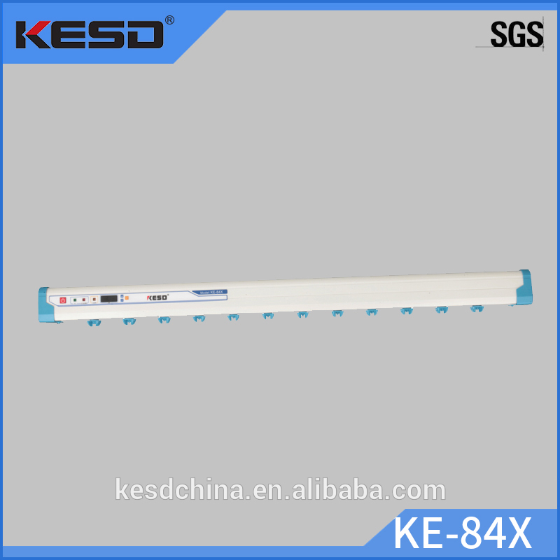 KE-84X New product 2017 anti static ionizing bar antistatic aluminium ion