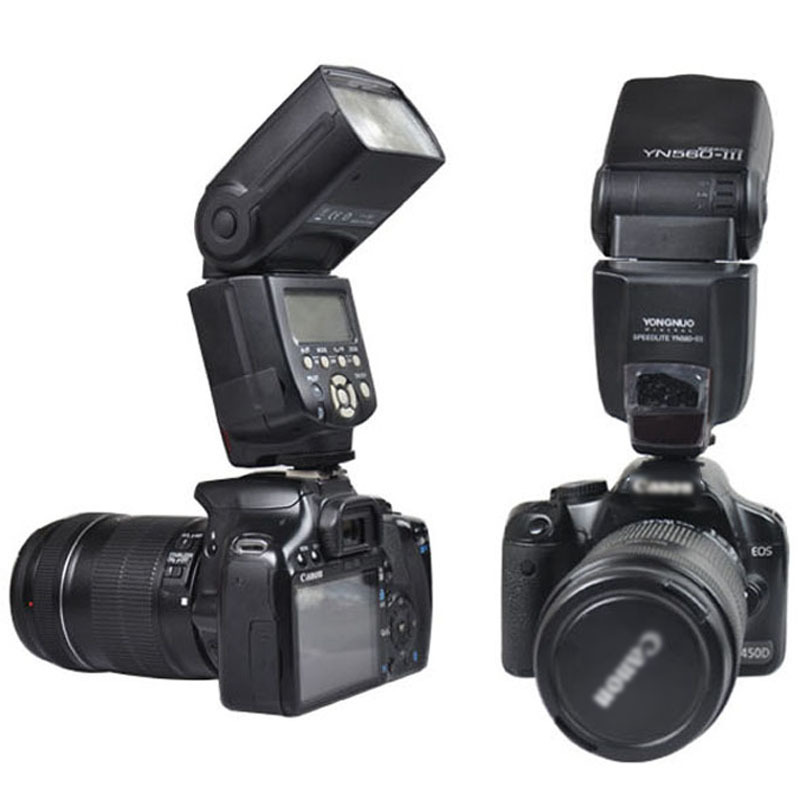 2.4G Wireless YONGNUO YN-560 III Camera Flash Speedlite Speedlight YN560 III for Canon Nikon Pentax Sony Panasonic DSLR Camera