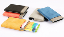 Wedacrafts New Model Pu leather RFID Credit Card Holder/ Secrid wallet