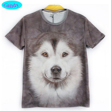 12 18 year teens boys or girls dog T shirt new arrive Europe and America style