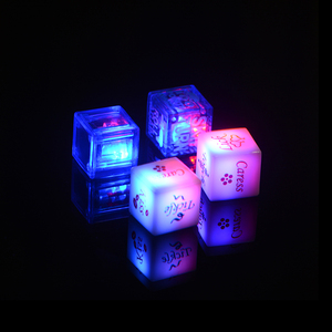 light up led dice