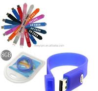 silicone usb bracelet, silicone led watch usb, usb silicone wristband