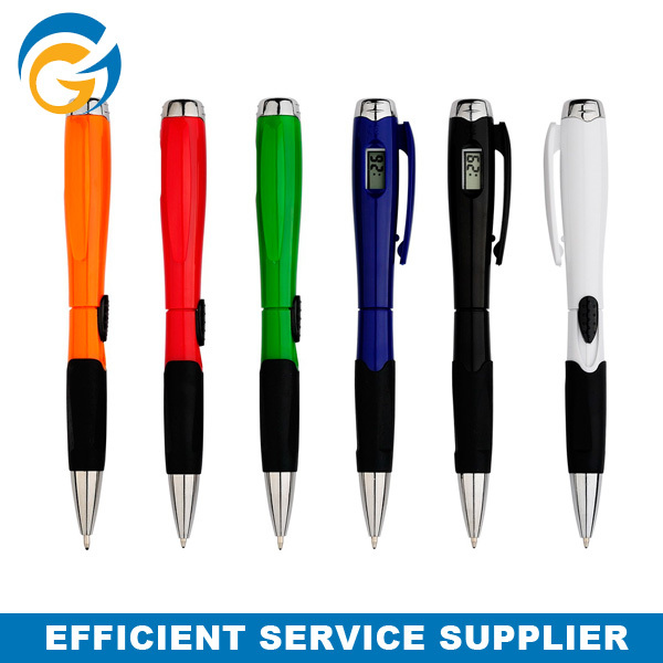 Hot Sale Promotion Gift Light Watches Ball Pen