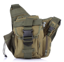 Tactical Croce corpo sling camera bag per la corsa esterna e sport