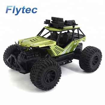 Flytec SL - 127A RC Car Remote Control Car Racing Buggy Car 2WD 2.4Ghz Electric High Speed RC Truck Off Road Vehicle RTR (Green)