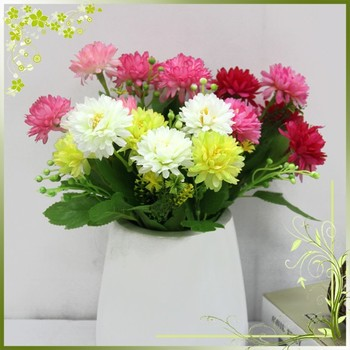 Cheap wholesale artificial chrysanthemum silk fabric plastic flowers cheap wholesale artificial chrysanthemum silk fabric plastic flowers home decoration mightylinksfo