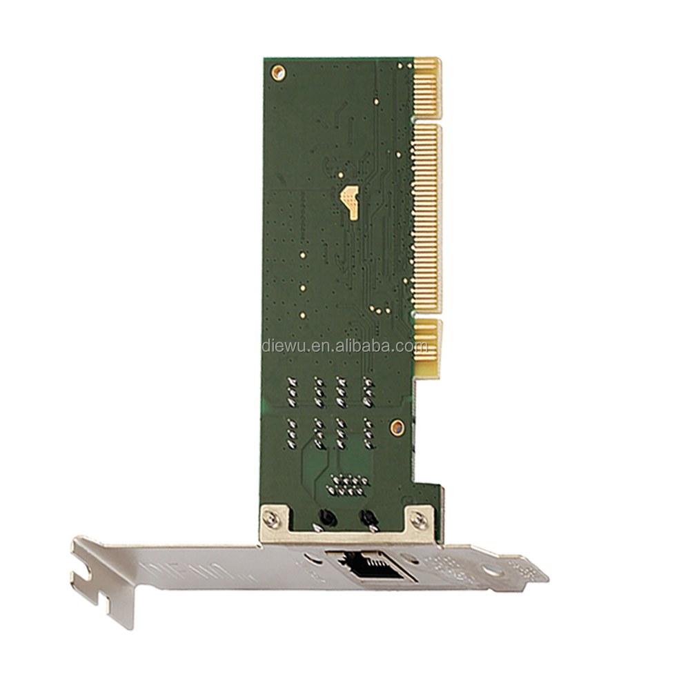 manufacturer direct sale 1000m Intel 82540 pci network card with bootrom