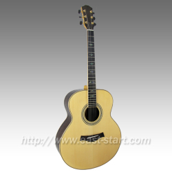 All Solid 43'' Jumbo Handcrafted Acoustic Guitar
