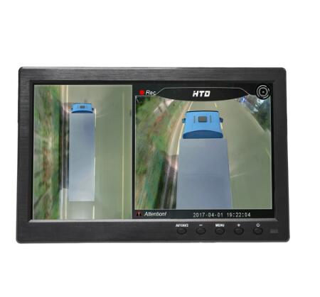 10 pollici HD Monitor Auto/Camion/bus display 1280X800 HDMI Interfaccia TFT LCD AV VGA Posteriore view Monitor DC 12 V/24 V