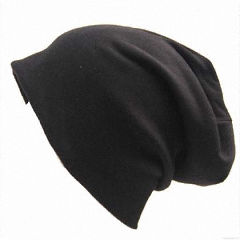 cde21c81149 Get Quotations · Smakke Gorros Beanie Hat Women Cotton Solid  Multifunctional Skullies Beanies