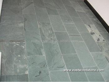 Ardesia verde per pavimenti piastrelle di pannelli a parete