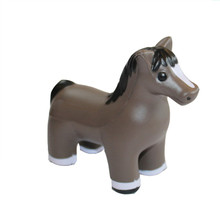 Promotional PU Animal horse Stress Toy/hand squeeze ball soft toys