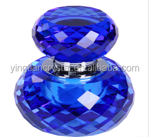 Top quality empty k9 crystal perfume spray bottles