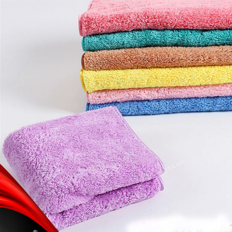 high quality Hot sale solid color 100% cotton stock lot beach towel