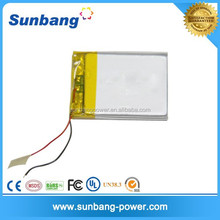 customized 3.7v 600mah li-ion 053048 battery for medical device/ led ltight