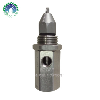 Dust Suppression Ultrasonic Dry Fog Nozzle,Fine droplet atomizing nozzle