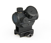 wholesale air gun accessories tactical optics pistol sights 3 moa red dot sight 1x20mm HD reflex sight with 20mm weaver mount