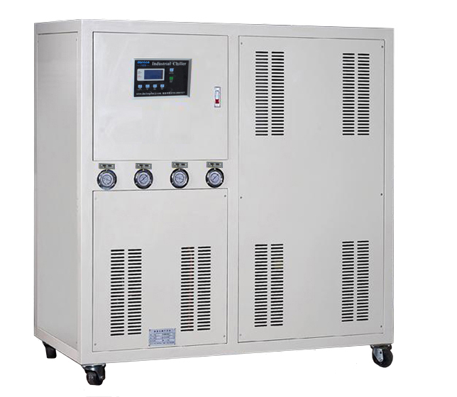 Shenzhen Dannice water chiller with cooling tower for industrial cooling