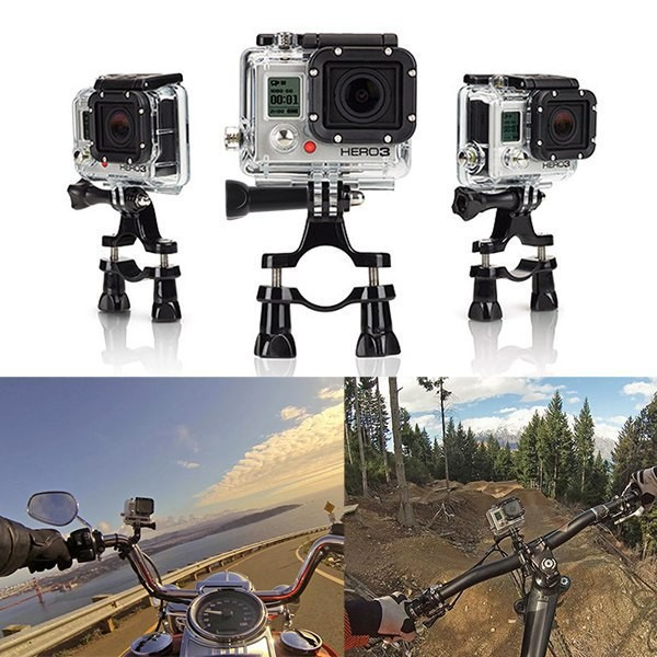 Руль Seatpost Go Pro велосипед велодержатель кронштейн для Gopro герой Hero4 сессия 3 2 1 SJ4000 xiaomi yi аксессуар
