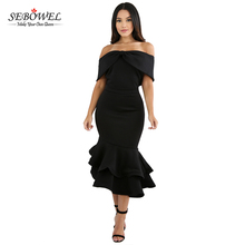 2017 China Factory Supply Off Shoulder Bodycon Evening Dress Wholesale
