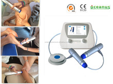 Oceanus New shockwave therapy machine for Quadriceps tendon / patella tendinopathy(double end)