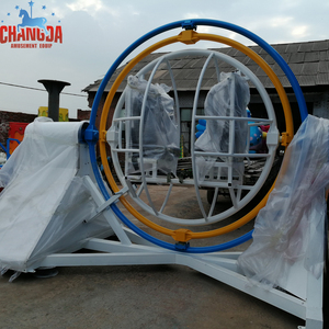 2015 Changda hot attraction rides outdoor human gyroscope for sale