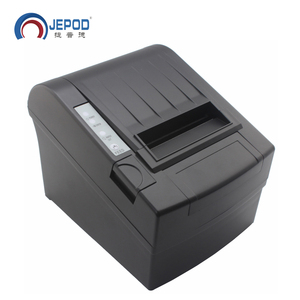 JEPOD JP-8006 USB+LAN+SERIAL auto cutter 80mm cheap pos printer thermal cheap kiosk thermal printer