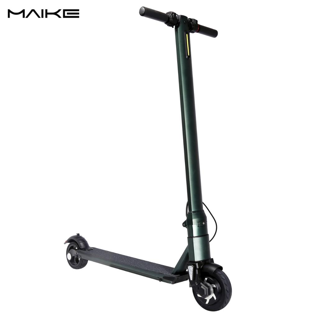 2018 the best folding electric scooter two wheel China factory direct electric scooty for sale with LG battery OEM is available, Silver / black / green
