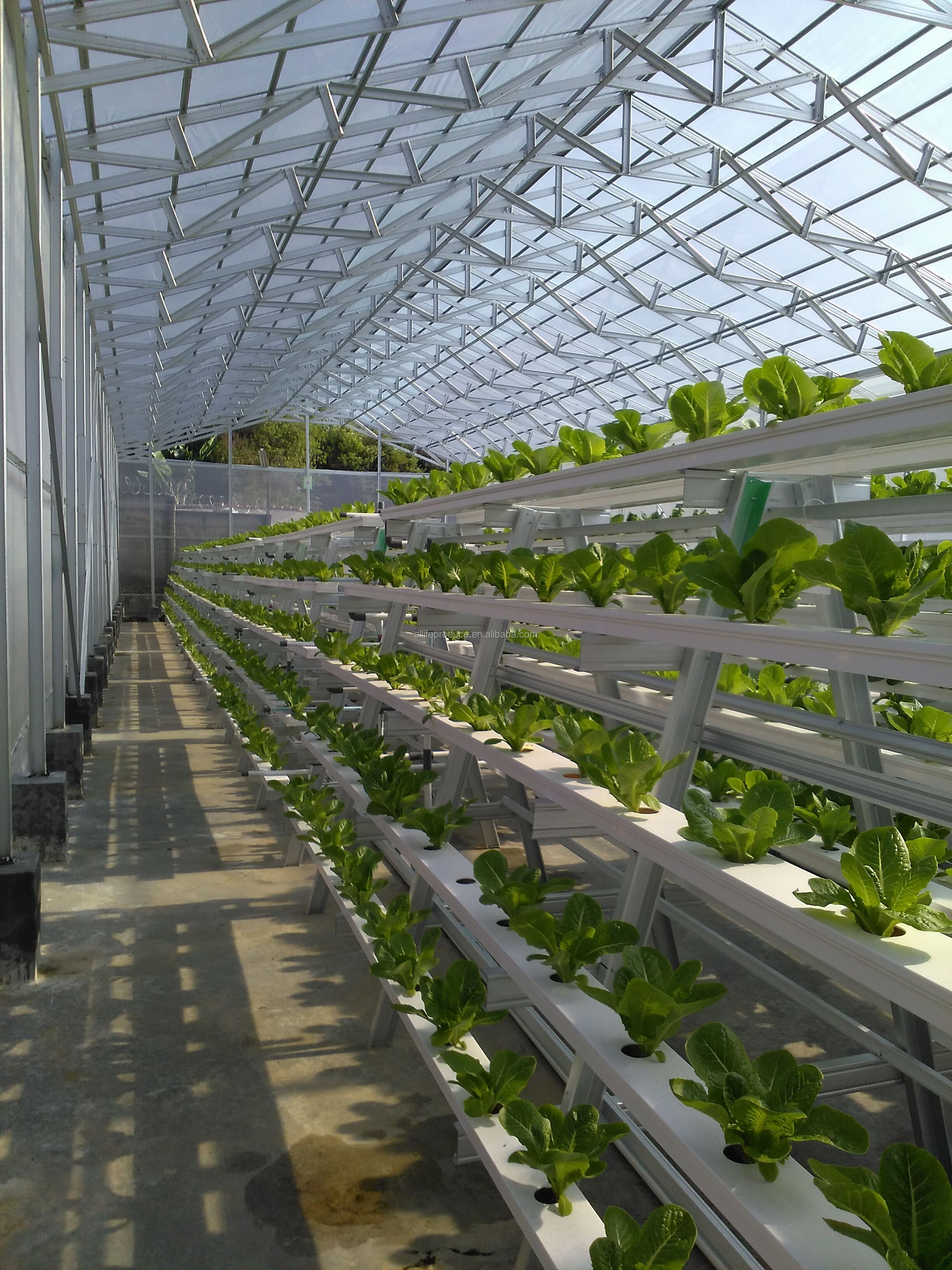 Plastic Pvc Pipe Hydroponic Nft Grow Gutter System For