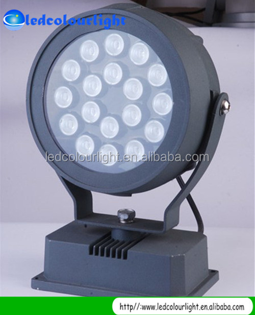 factory price 36W led ip65 floodlight, 36Watts rgb led spotlight flood light with DMX panel
