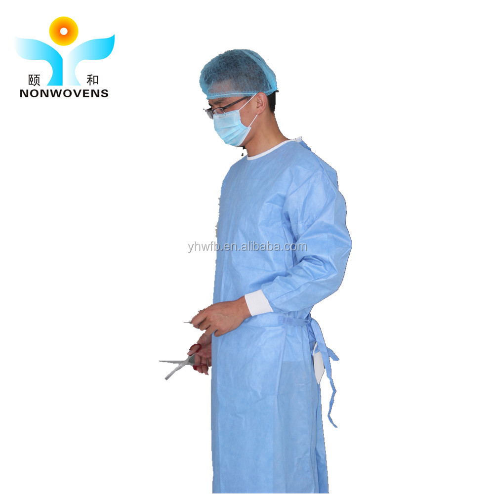 Eto Sterilized Reinforced Disposable Surgical Gown - Buy Reinforced ...