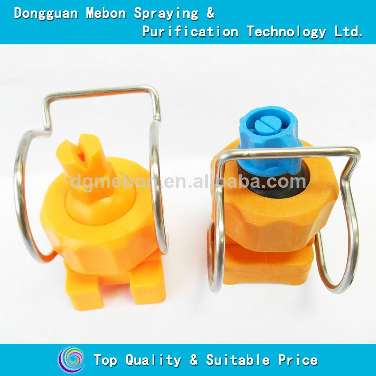 fiber reinforced plastic trench clamp nozzle