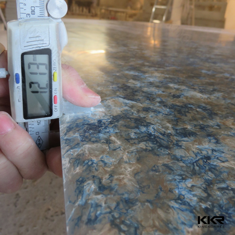 Artificial stone in sheet marble look solid surface