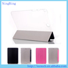 Smart ultra slim silk texture flip stand cover for ipad mini 4 case