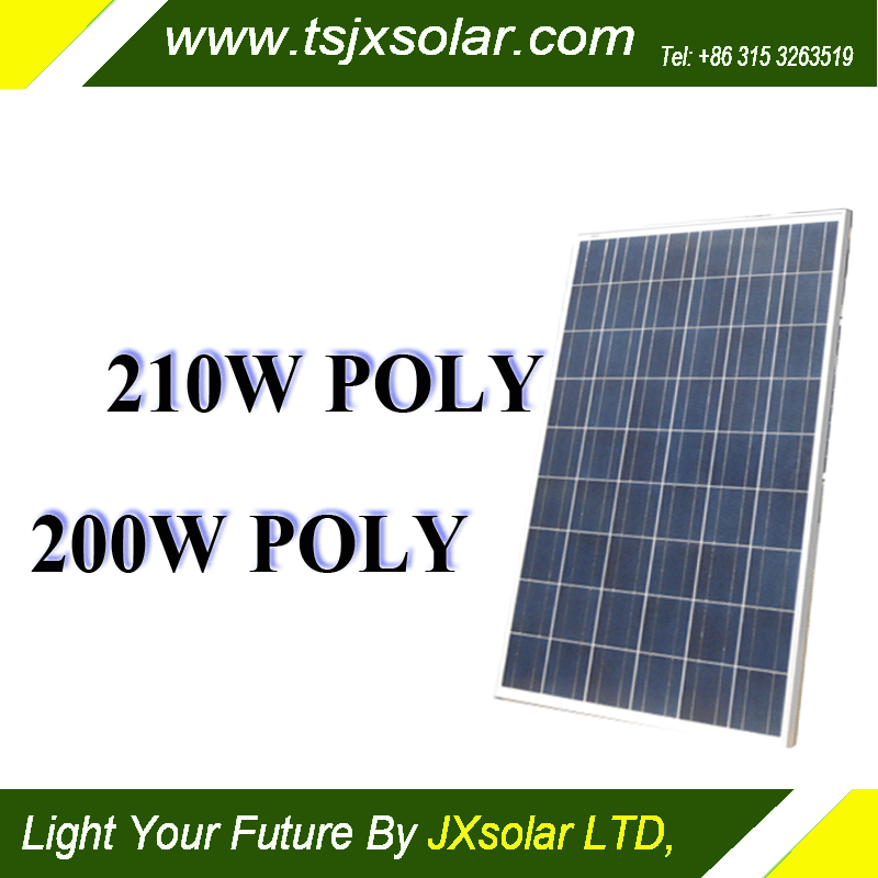 210watt polycrystalline best price production line 1KW 2KW 3KW panel solar