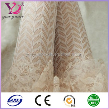 Lace Type Strong Stretch Mesh Fabric For Women Stocking