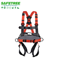 GH1008 CE Standard EN361 full body safety harness safety protection belt PPE