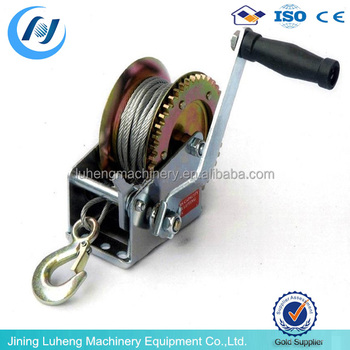 1000lbs manual boat winch manual anchor winch manual hoist and winches