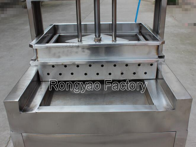 1 single pan presser Automatic Tofu Commercial Soybean milk molding Bean Curd pressing Machine