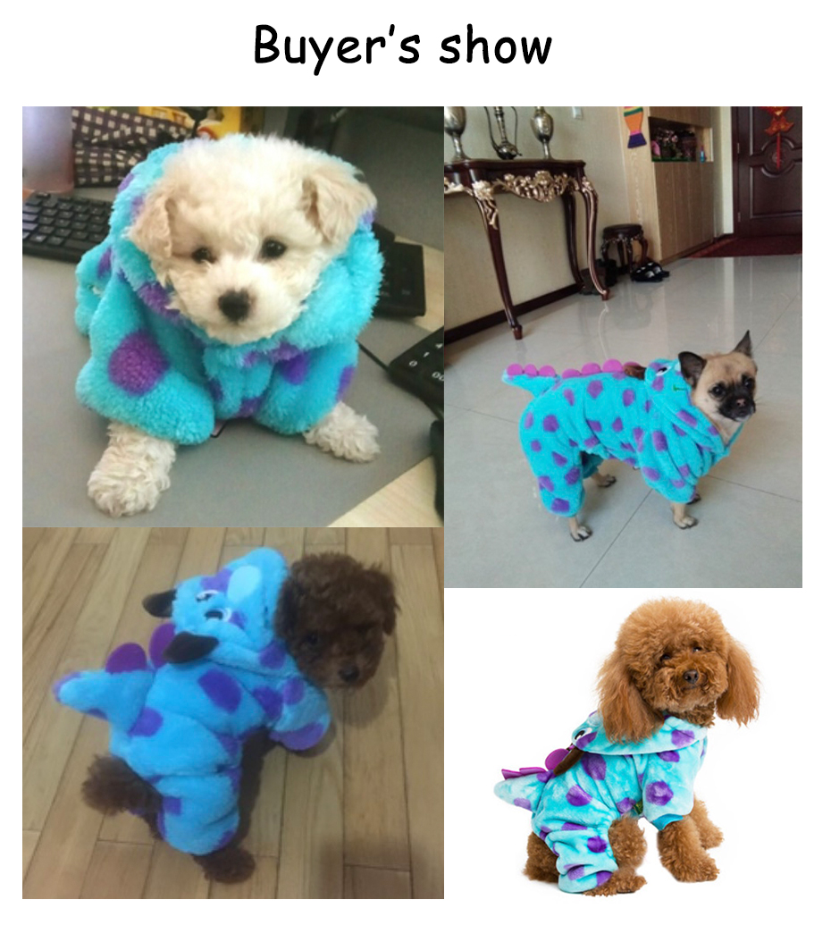 2018 Genuine Dog Pet Clothes Warm Party Dress up Dog Winter Clothing Coat Dragon Design Costume For Small Meadium And Big Puppy