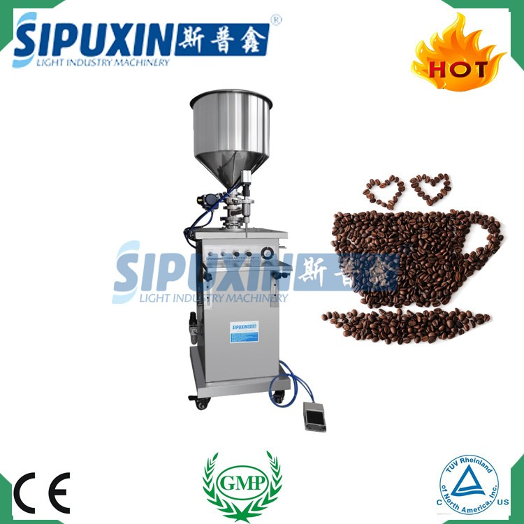Manufacturer direct selling stainless steel 316L green coffee bean filler