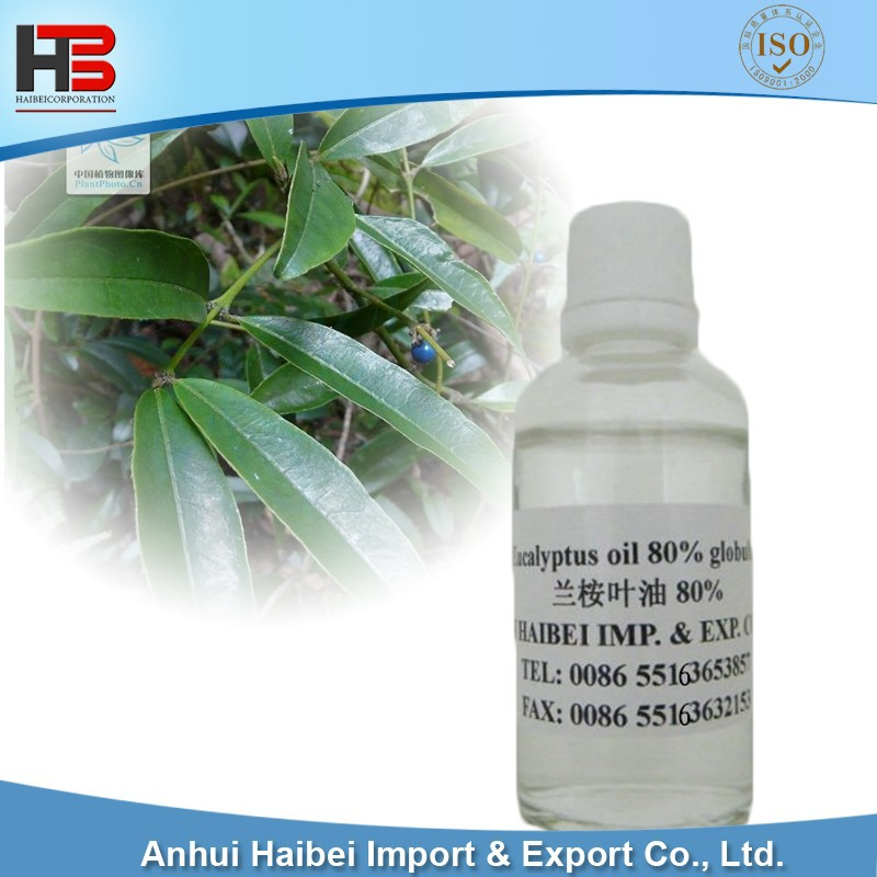 Eucalyptus Oil 80% min,Globulus offering