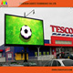 P10 Led Window Display/Mega Led Screen,Merry Christmas Massage Led Sign Screen
