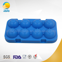 OEM design fancy shaped silicone ice cube tray With Promotion Price