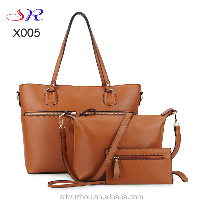 Alibaba china women bag 3 pcs lady set bags ladies handbag taobao online shop china