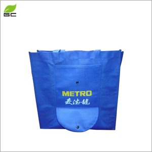 Alibaba professional cheap price reusable non woven carrying bag OEM logo