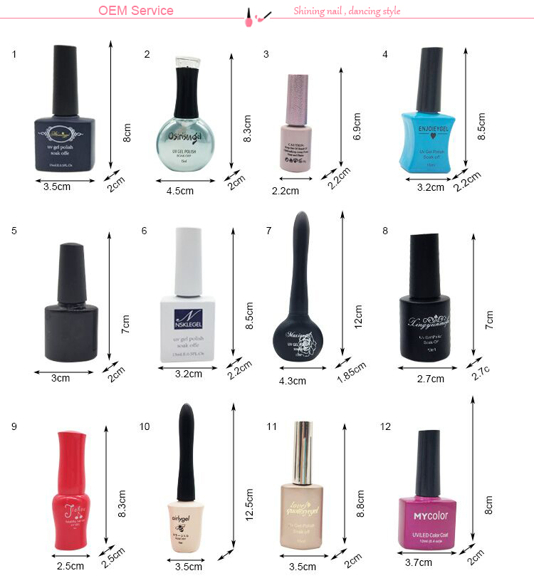 Naturale Soak Off Gel Nail Polish Cina