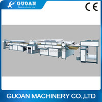Energy saving and high quality ZDSG-1200 automatic uv varnish coating machine for cover (dual-set)